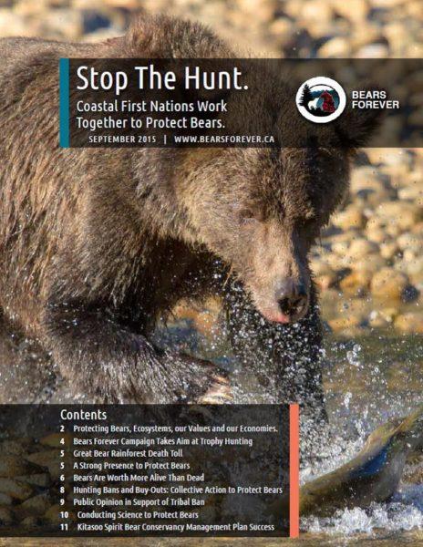 Stop the Hunt, bear newsletter, Bears Forever