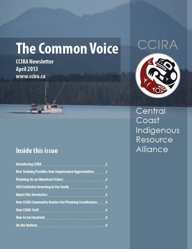 CCIRA Newsletter: TheCommon Voice, April 2013
