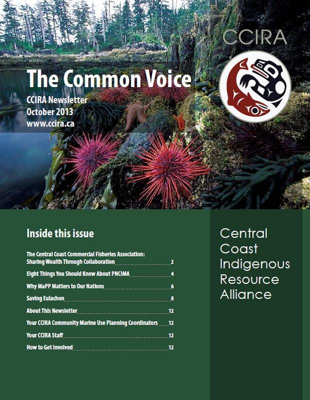 The Common Voice, October 2013