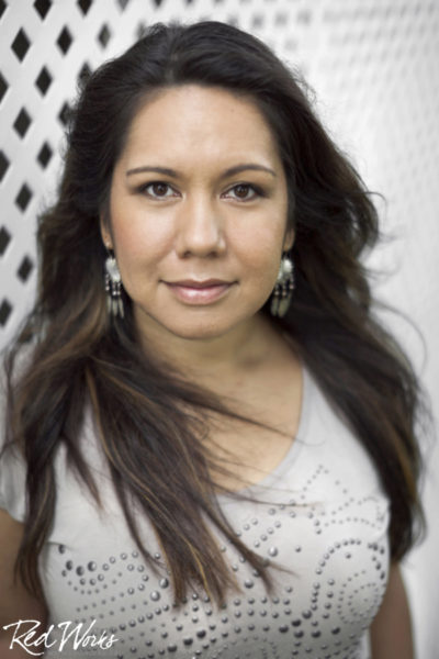 Heiltsuk filmmaker Zoe Hopkins